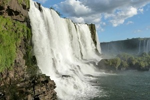 Iguazu Falls, a highlight of this short Brazil vacation by Southern Crossings